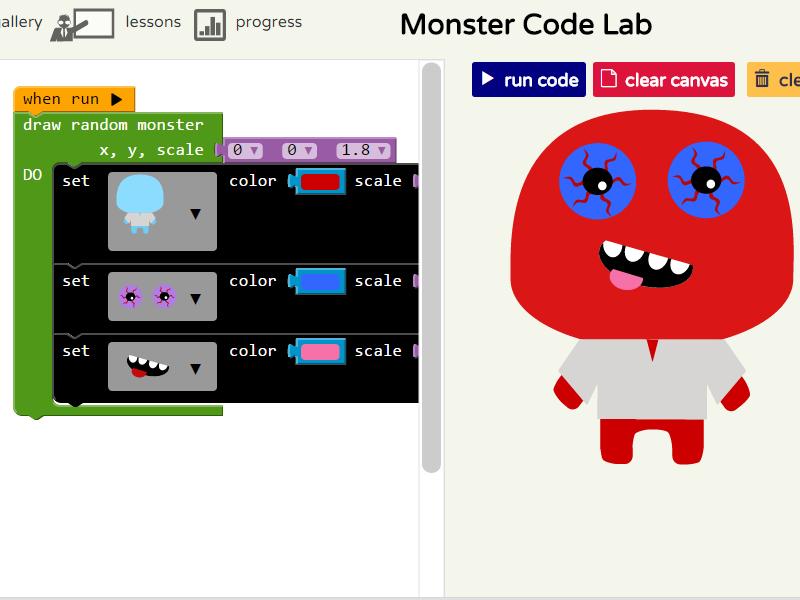 Monster Coding - Fun Programming for Kids
